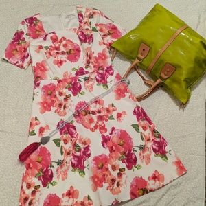 Coldwater Creek Floral Dress 6